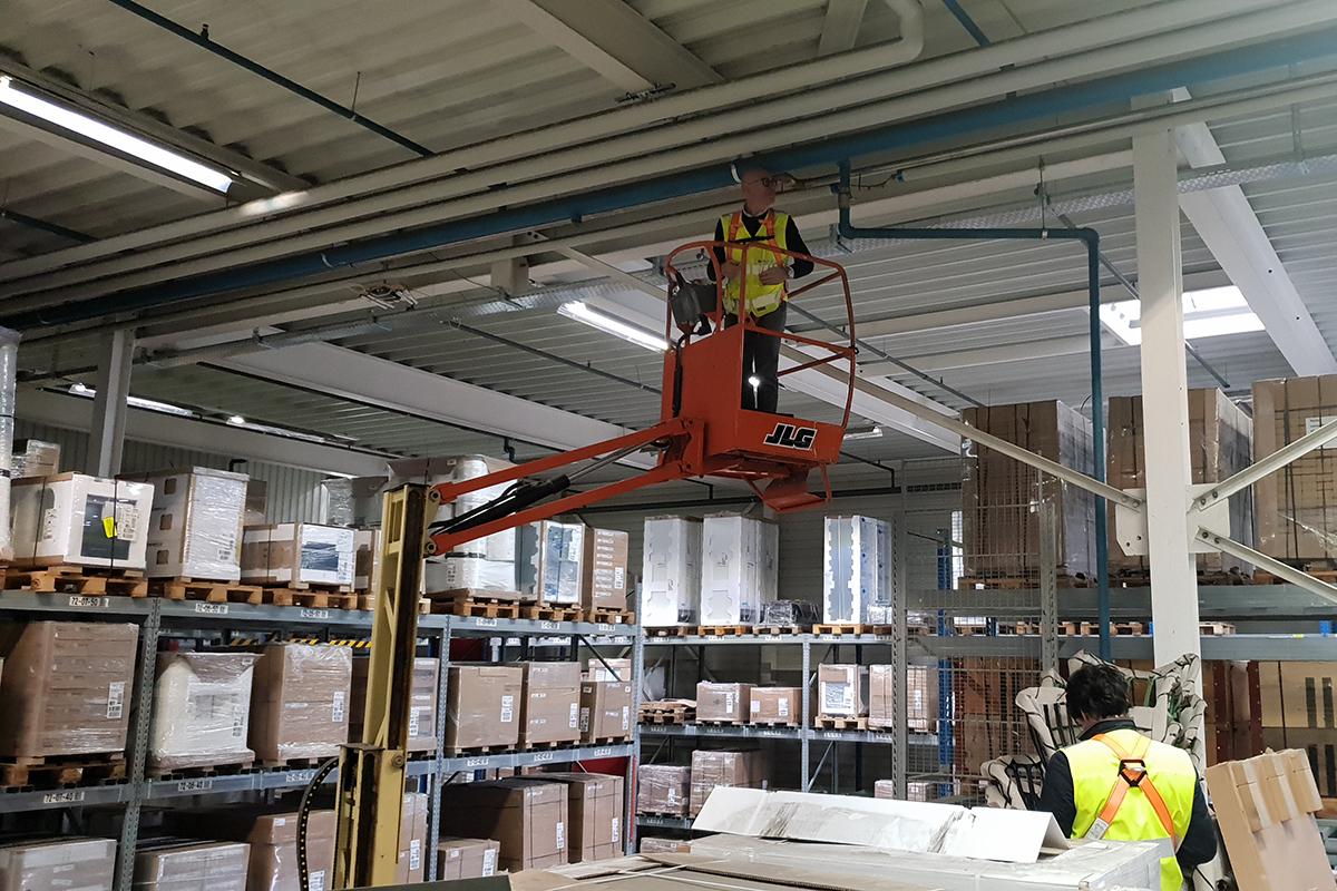Structural reinforcement for depot