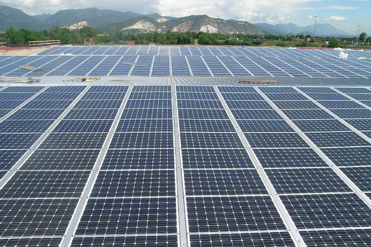 Nuovo impianto fotovoltaico in copertura