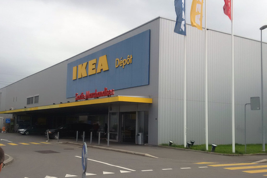 Rinforzo strutturale deposito IKEA Aubonne