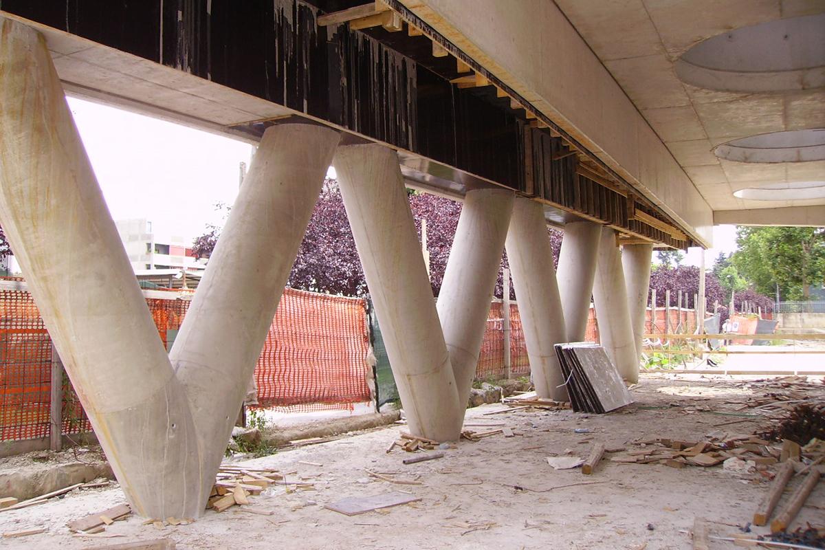 Construction of accommodation