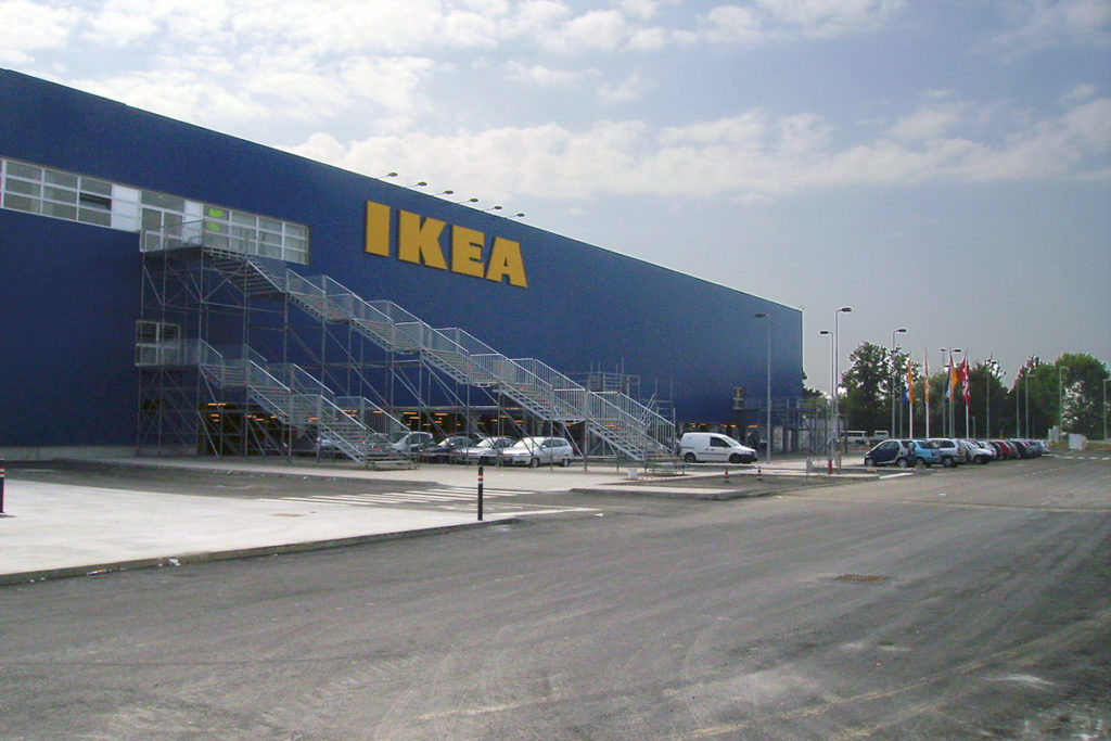 Nuovo complesso commerciale IKEA
