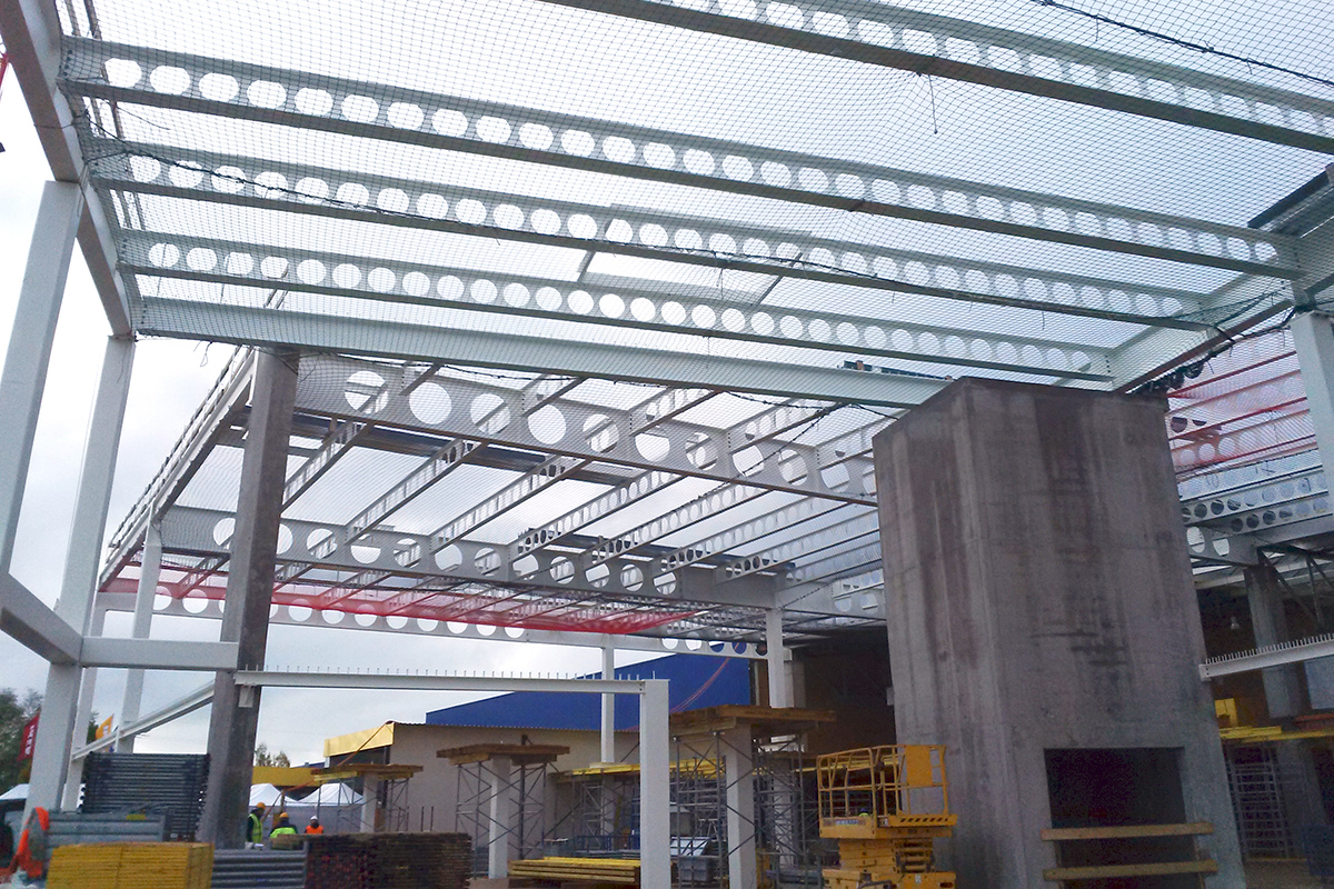 Commercial building reconfiguration