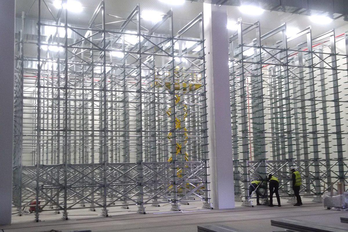 New seasoning warehouse