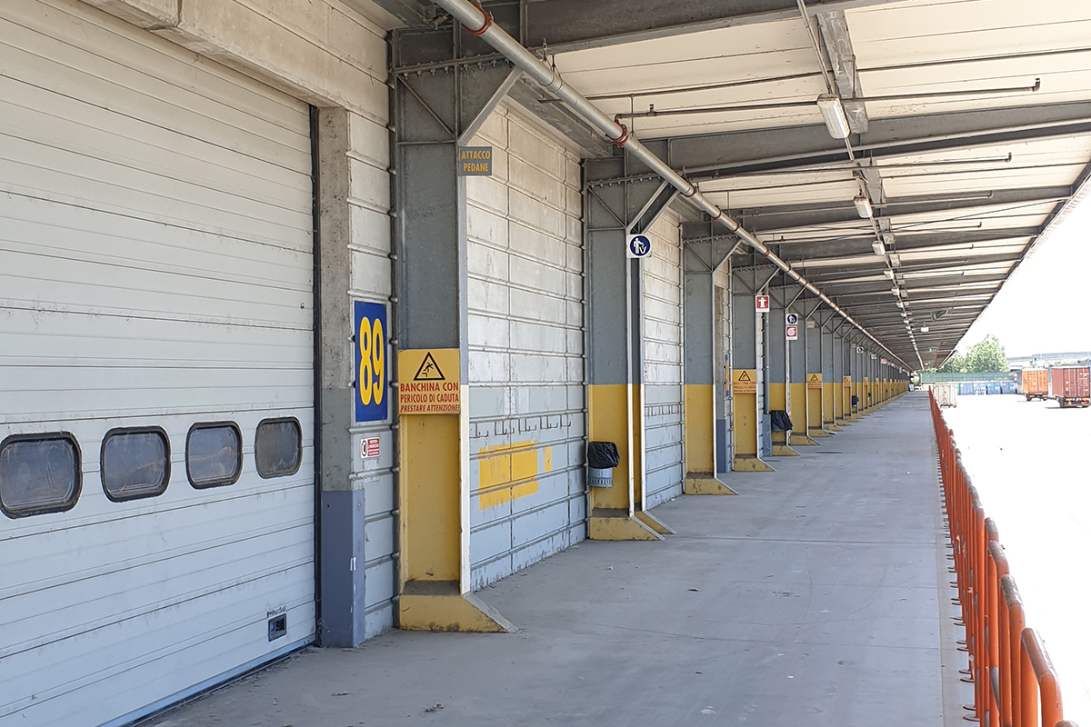 Construction of new loading bays