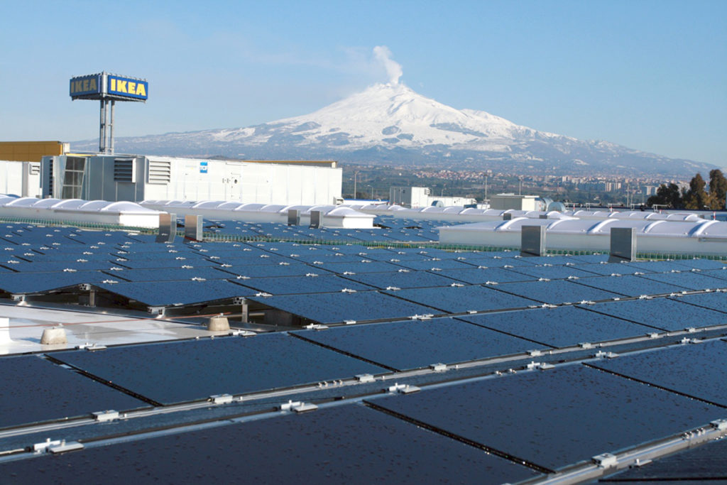 Photovoltaic systems IKEA