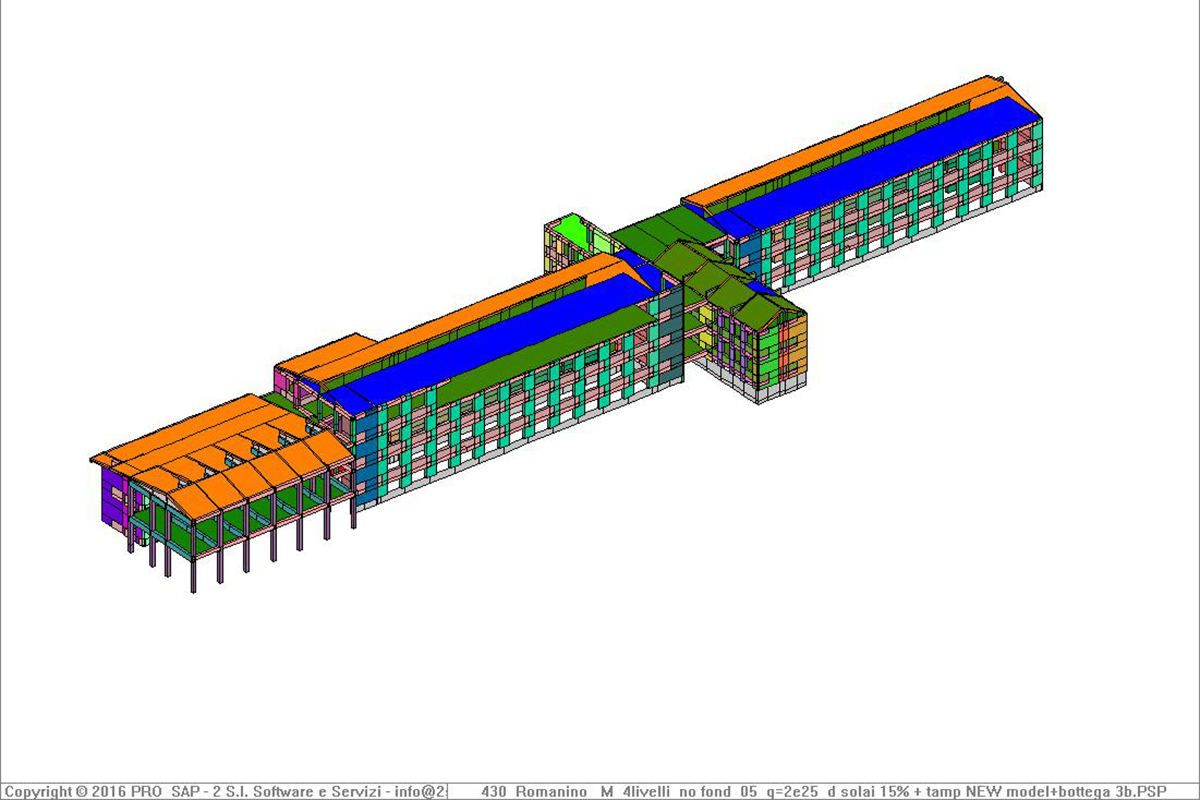 Structural analysis of school buildings