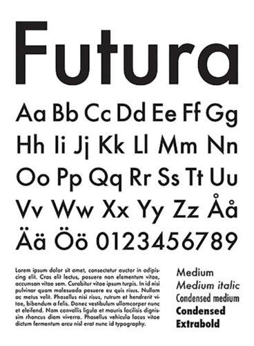 Font Futura
